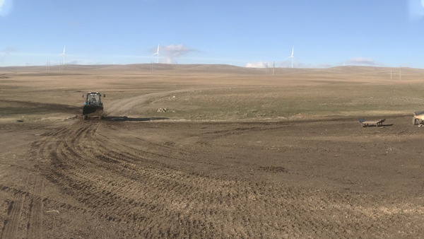 Kazakhstan: Wind Gives Light to Peishbek's Farm
