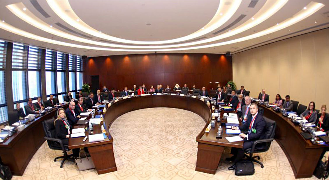 Inaugural meeting of the AIIB's Board of Directors