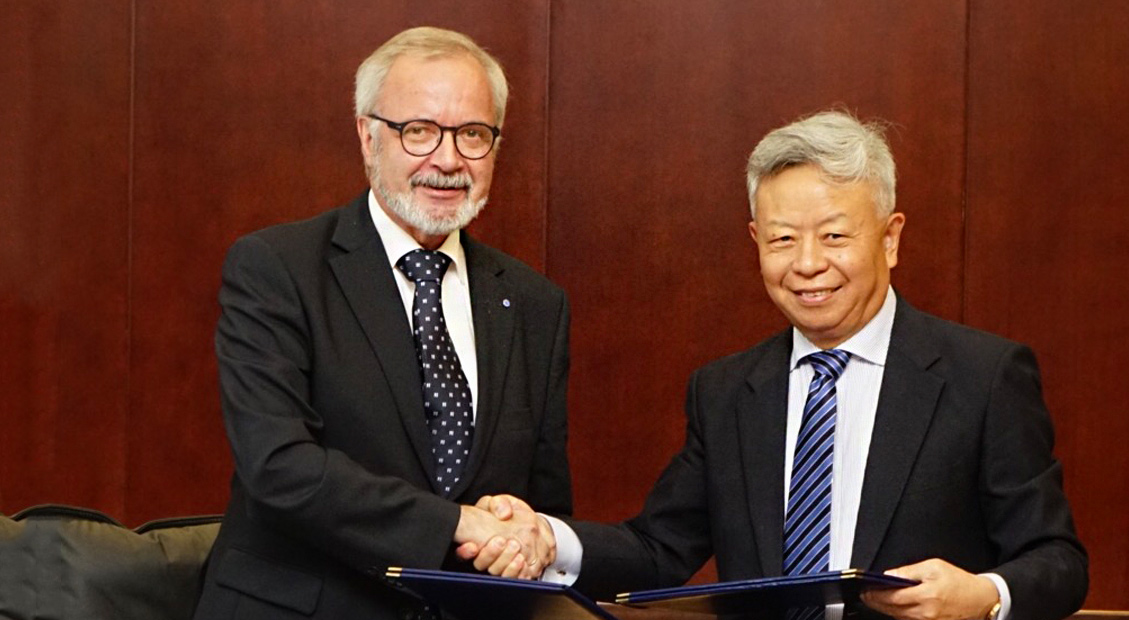 Asian Infrastructure Investment Bank and European Investment Bank agree to strengthen cooperation